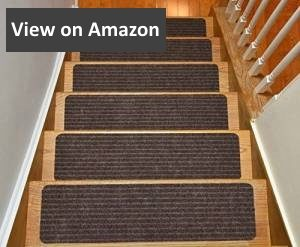 Stair Treads Collection Indoor Skid Slip Resistant Carpet Stair Tread Treads review