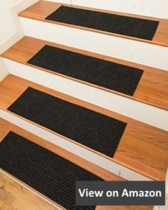 NaturalAreaRugs Halton Polyester Carpet Stair Treads review