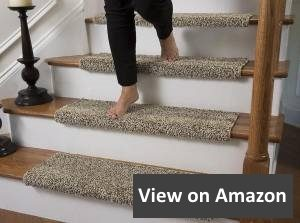 Caprice Bullnose Carpet Stair Tread with Adhesive Padding by Tread Comfort review