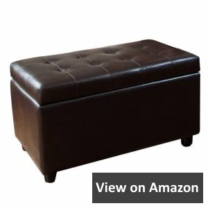 Simpli Home Cosmopolitan Faux Leather Rectangular review