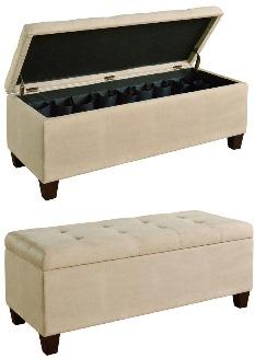 best storage benches