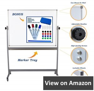 Dapper-Display-Magnetic-Mobile-Dry-Erase-Board-On-Stand-Double-Sided-Flip-Over