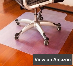 Mysuntown Eco Office Chair Matfor both hard floor surfaces and low-pile carpeting