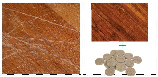 Furniture Pads for Hardwood Floors