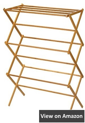 Best wooden folding clothes drying rack