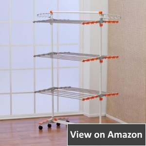 heavy duty clothes drying rack