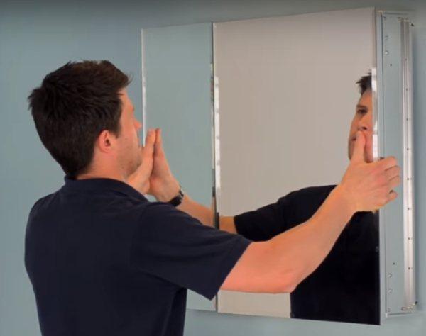 Croydex Medicine Cabinet Installation - 4 step