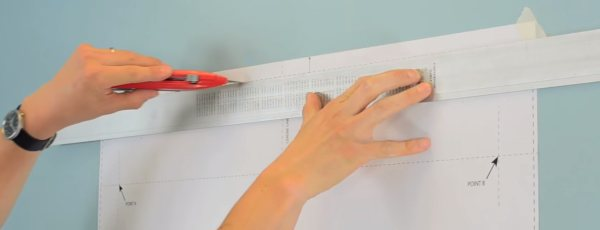 Croydex Medicine Cabinet recessed Installation - 1 step