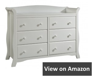 Stork Craft Avalon Universal Dresser