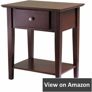 Winsome Wood Shaker Nightstand, Antique