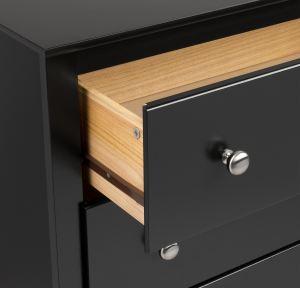 Prepac Sonoma Tall 2-Drawer Nightstand 3