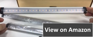 Albrillo LED, Dimmable Under Counter Kitchen 3 Lights Strip