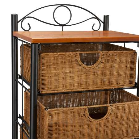 Southern Enterprises Baskets Dresser 2
