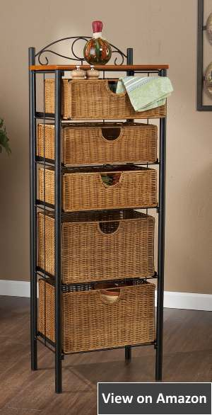 Southern Enterprises Baskets Dresser