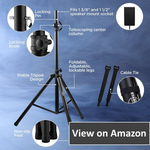 Starument, Pa Tripod Speaker Stands, Pro