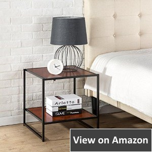 Zinus Square Bedside Table