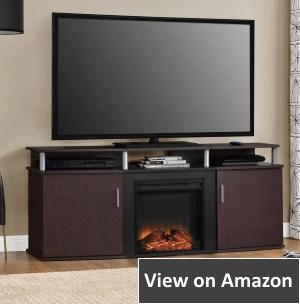 Altra Furniture Carson Fireplace TV Console 70